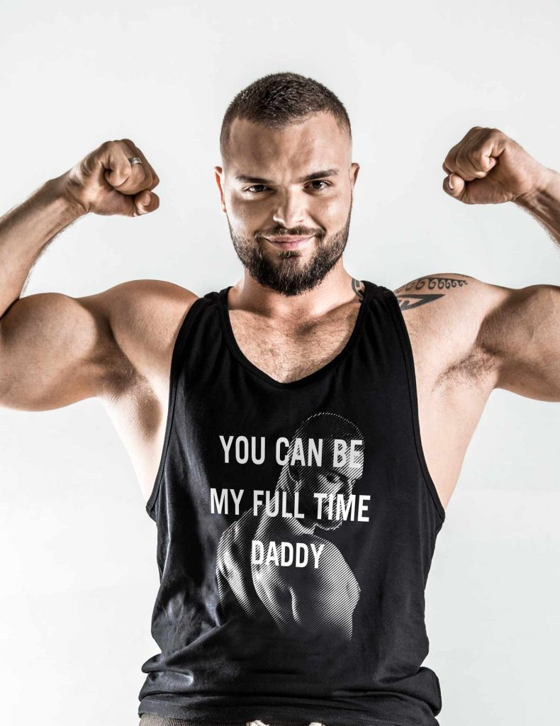 You Can Be My Fulltime Daddy Shirt Schwarzrosagold